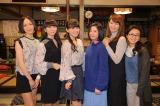 Perfumeが日本テレビ系連続ドラマ『東京タラレバ娘』撮影現場を表敬訪問 (C)日本テレビ