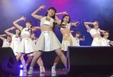 メジャーデビューシングル「初恋サンライズ/Just Try!/うるわしのカメリア」リリースイベントを開催したつばきファクトリー (C)ORICON NewS inc.