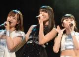 メジャーデビューシングル「初恋サンライズ/Just Try!/うるわしのカメリア」リリースイベントの模様 (C)ORICON NewS inc.