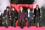 ドキュメンタリー映画『WE ARE X』の完成披露ジャパンプレミア紅カーペットイベントに出席したX JAPAN (C)ORICON NewS inc.