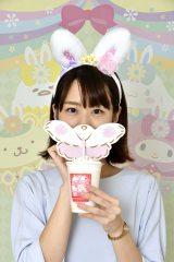 メルのピーチドリンクイメージ (c)2017 SANRIO CO., LTD.