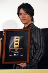 映画『彼らが本気で編むときは、』初日舞台あいさつに登壇した桐谷健太 (C)ORICON NewS inc.