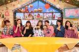 (左から)はるな愛、遼河はるひ、海原やすよ、海原ともこ、友近、佐藤仁美、吉木りさ(C)関西テレビ