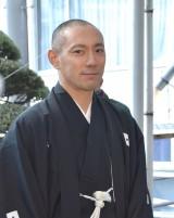 魚河岸水神社を参拝した市川海老蔵 (C)ORICON NewS inc.