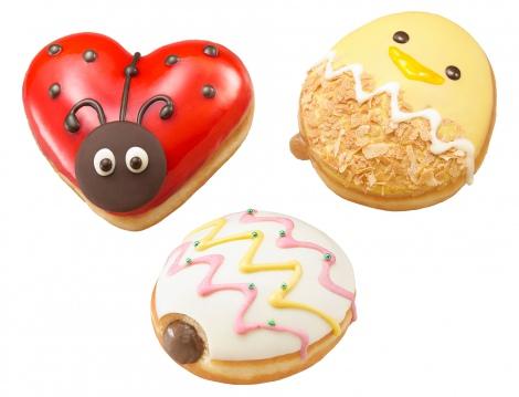 毎年人気のKKDのイースタードーナツに「テントウムシ」が仲間入り!