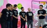 24時間生放送番組Abema TV『極楽とんぼ「KAKERU TV」〜24時間AbemaTV生JACK』がスタート (C)ORICON NewS inc.