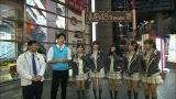 3月5日深夜放送、関西テレビ『NMBとかたるくん』NMB劇場前でかまいたちと合流するNMB48メンバー(C)関西テレビ