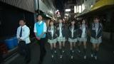 3月5日深夜放送、関西テレビ『NMBとかたるくん』本拠地、大阪・なんばを歩くNMB48メンバー(C)関西テレビ