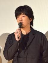 映画『しゃぼん玉』の初日舞台あいさつに登壇した秦基博 (C)ORICON NewS inc.