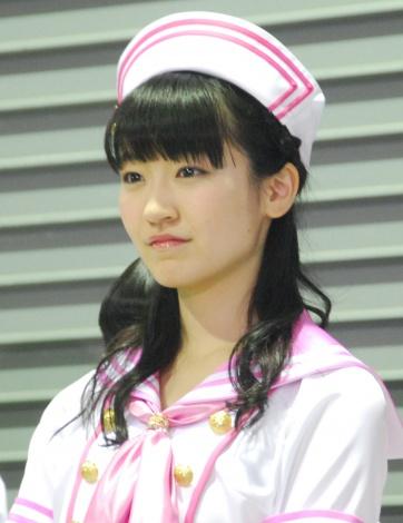 ピンクの帽子がとても良く似合う前島亜美の画像♪