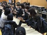 AKB48柏木由紀ら16人は福島県広野町を訪問(C)AKS