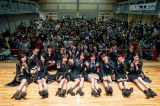 NMB48山本彩らは宮城県山元町の山下第二小学校でライブ(C)AKS