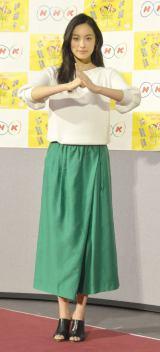 『平成29年度 NHK語学番組』発表会見に出席したイーラン (C)ORICON NewS inc.