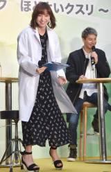 白衣姿で登場した篠田麻里子=薬剤耐性普及啓発イベント (C)ORICON NewS inc.