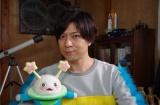 『コノマチ☆リサーチ』主人公「ハジメ」役の岸田メルと「宇宙人ズビ」(CV:久野美咲)(C)NHK