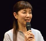 舞台『不信〜彼女が嘘をつく理由』の初日直前会見に参加した戸田恵子 (C)ORICON NewS inc.