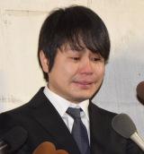 涙ながらに謝罪したNON STYLE・井上裕介 (C)ORICON NewS inc.