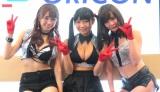 グラドルユニット・G☆Girlsがオリコンに来社 (C)ORICON NewS inc.