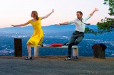 ミアとセブのダンスシーン(C)2017 Summit Entertainment, LLC. All Rights Reserved.Photo credit: EW0001: Sebastian (Ryan Gosling) and Mia (Emma Stone) in LA LA LAND.Photo courtesy of Lionsgate.