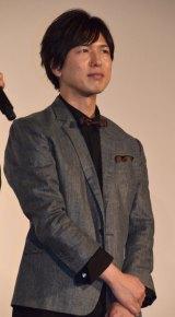 映画『夜は短し歩けよ乙女』の完成披露上映会に出席した神谷浩史 (C)ORICON NewS inc.