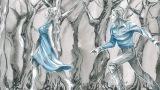 昭和レトロな雰囲気漂う劇画タッチの作画で描くオムニバスショートアニメ(C)「世界の闇図鑑」製作委員会