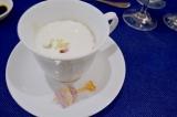 『ごぼうのクリームスープ グミピンチョスを添えて』 (C)oricon ME inc.