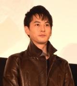 『劇場版 ウルトラマンオーブ 絆の力、おかりします!』初日舞台あいさつに登壇した石黒英雄 (C)ORICON NewS inc.