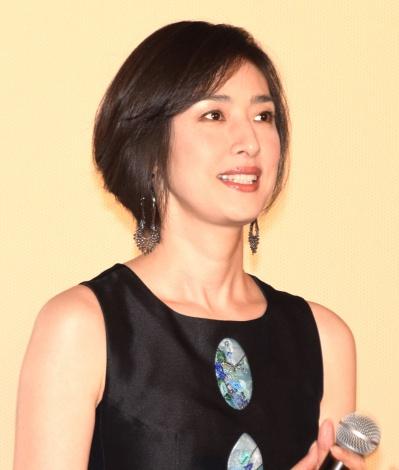 映画『チア☆ダン』の初日舞台あいさつに出席した天海祐希 (C)ORICON NewS inc.