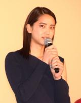 映画『チア☆ダン』の初日舞台あいさつに出席した山崎紘菜 (C)ORICON NewS inc.
