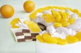 『「ネーブルオレンジ」とチョコレートのケーキ』