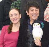 シルビア・グラブ(左)と市村正親=ミュージカル『紳士のための愛と殺人の手引き』公開けいこ後取材会 (C)ORICON NewS inc.