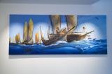 米ロサンゼルスにあるディズニー・アニメーション・スタジオ。2017年1月に訪問した時は『モアナと伝説の海』関連の資料が展示されていた (C)ORICON NewS inc.