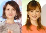 (左から)後藤真希、吉澤ひとみ (C)ORICON NewS inc.