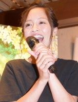 第2子出産後、初めて公の場に登場した小森純 (C)ORICON NewS inc.