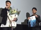 """チャン・チェンから""""勝負パンツ""""をプレゼントされた妻夫木聡(右) (C)ORICON NewS inc."""