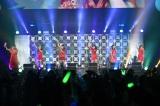 女性アーティスト限定ライブイベント『CDTV GIRLS FES』に出演したLittle Glee Monster (C)TBS