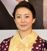 『LEADERSII』制作会見に出席した菅野美穂 (C)ORICON NewS inc.