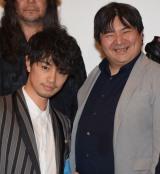 (左から)斎藤工、井口昇監督 (C)ORICON NewS inc.