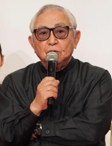 ドラマ劇場『やすらぎの郷』の制作発表記者会見に出席した倉本聰氏 (C)ORICON NewS inc.
