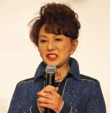 ドラマ劇場『やすらぎの郷』の制作発表記者会見に出席した加賀まりこ (C)ORICON NewS inc.