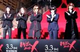 初めて5人でレッドカーペットに登場したX JAPAN (C)ORICON NewS inc.