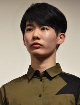 映画『グッバイエレジー』の完成披露試写会に出席した飛葉大樹 (C)ORICON NewS inc.