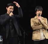 映画『サクラダリセット』の公開直前イベントに参加した(左から)野村周平、山村隆太 (C)ORICON NewS inc.