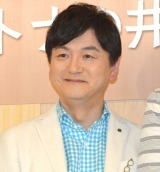 NHK情報番組『ごごナマ』の取材会に出席した阿部渉アナウンサー (C)ORICON NewS inc.