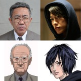 映画『いぬやしき』に主演する木梨憲武(左)。佐藤健は初の悪役を演じる (C)2018「いぬやしき」製作委員会