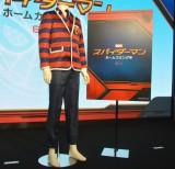 関ジャニ∞が着用したのと同じデザインのスパイダーマンにちなんだ衣装 (C)ORICON NewS inc.