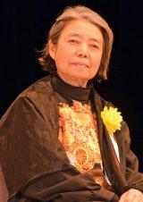 『平成28年度 スターの手型』の顕彰式に出席した樹木希林 (C)ORICON NewS inc.