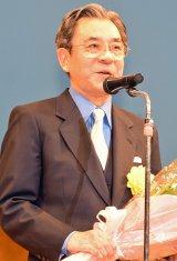 『平成28年度 スターの手型』の顕彰式に出席した中村梅玉 (C)ORICON NewS inc.