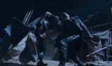 NHK大河ファンタジー『精霊の守り人 悲しき破壊神』第8回より。バルサとヒュウゴが激突!(C)NHK