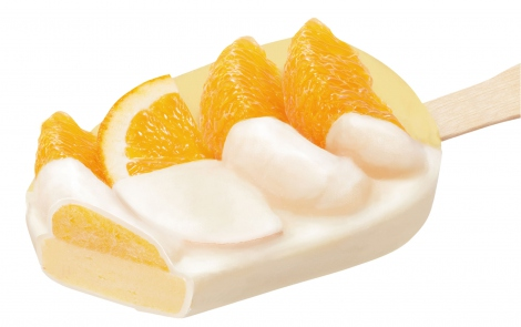 ミニストップの「贅沢なアイス」第2弾『贅沢なオレンジシャーベット』が新登場